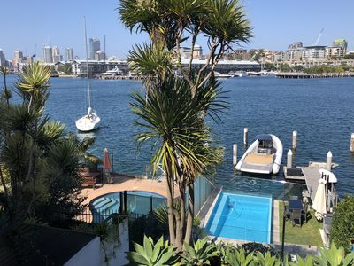 Photo for Stunning waterfront house with amazing views to Darling Harbour