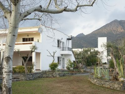 Photo for Sea view, parking, WIFI, cameras on the terrace 25 m2, 1000 m2 garden