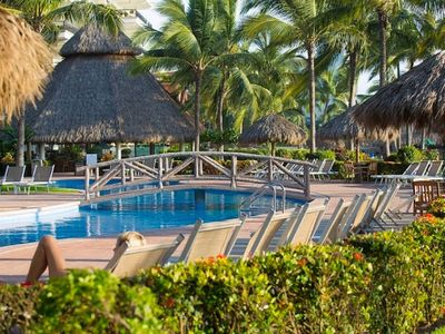 Photo for Playa Royale, Paradise Village, Oceanfront & Golf access, Nuevo Vallarta