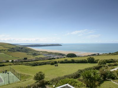 Photo for Woolacombe Apartment Stunning Views Of Coast & Lundy Island