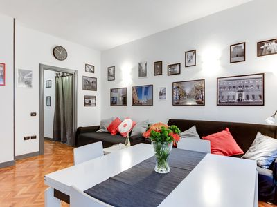 Photo for Large refined apartment in the heart of the town