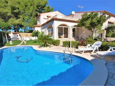 Photo for Lovely villa for 6 with private pool and beautiful garden