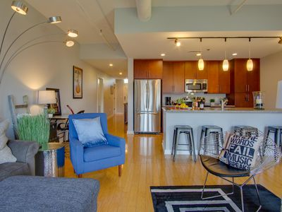 Photo for Prime Upscale Downtown Condo On The River! Garage Parking
