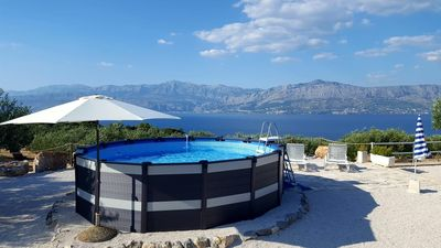 Photo for Secluded house with a swimming pool Postira, Brač (K-11742)
