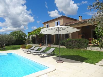 Photo for Wonderful private villa for 12 guests with private pool, WIFI, TV, pets allowed and parking