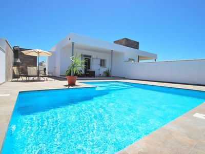 Photo for new modern holiday home with very nice private pool in quiet surrounding for 6 persons, with WiFi