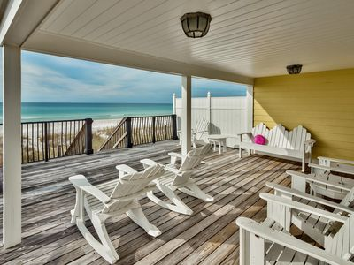Photo for Hanging Out - Fabulous Beachfront Home! West End! Sleeps 10!