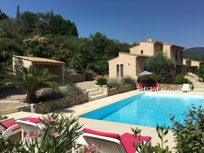 Photo for 5BR Villa Vacation Rental in Bargemon, Provence-Alpes-Côte-D'Azur
