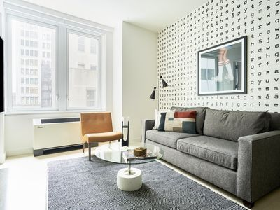 Photo for Sonder | Wall Street | Simple 1BR + Kitchen