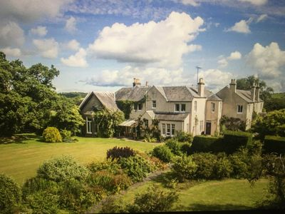 Photo for Exclusive use 18 person 9 en-suite bedroom country house in Ayrshire countryside
