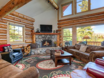 Powder Ridge Cabin 21 Rosebud, Living, 1