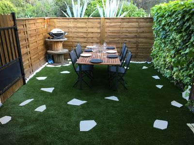 Photo for Superb Villa Club + Garden floor