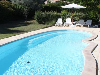 Photo for Charming country house, 4 bedrooms, 9 people with private pool