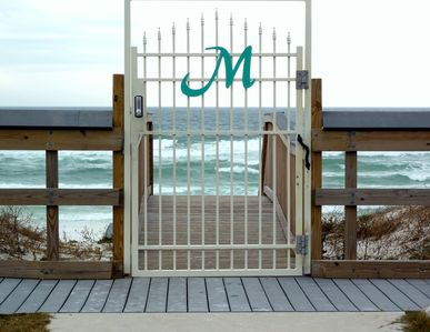 Maravilla Private Beach Entrance