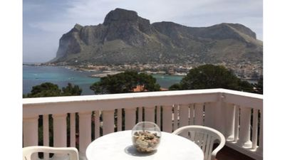 Photo for Terrazza sul GolfoSole Sicilian, relaxation, crystal clear sea, breathtaking view