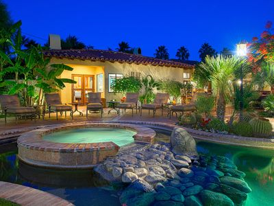 Photo for Saltwater Pool/Spa, Firepit, Outdoor Shower, Free WiFi , Mountain Views...