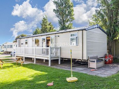 Photo for 8 berth caravan for hire at Haven Hopton in Norfolk 2 night stays ! ref 80025