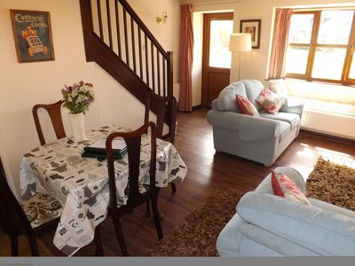 Photo for A beautiful pet friendly cottage set in a walled courtyard with  pool and games room.