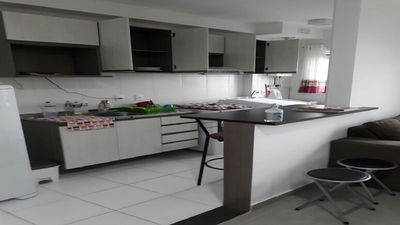 Photo for Rent Apt with sea view, in excellent location, in Ocian in Praia Grande - SP