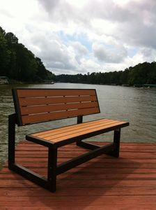 Take a seat, relax and enjoy our private dock!