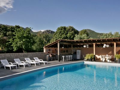 Photo for T3 CLEMENTINU in a Corsican villa, comfortable, quiet, with swimming pool.