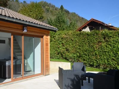Photo for uriage Rental with jacuzzi and terraces