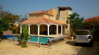 Photo for VILLA dream comfort, ultra secure, sleeps, pool + private spas