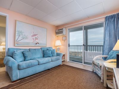 Oceanfront condos with rare 2 night minimum rentals and linens included!