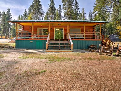 Photo for NEW! Lake Cascade Cabin w/ Deck, Fire Pit & Grill!