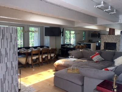 Photo for Luxurious Riverfront Townhouse, Downtown Aspen -- Modern Mountain Remodel !!