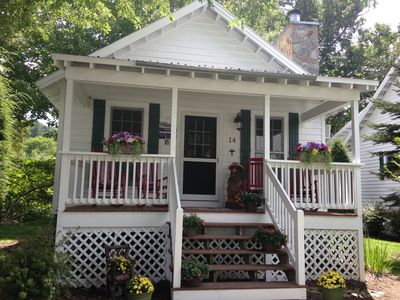 Photo for Peaceful Cottage sits right on the Linville River