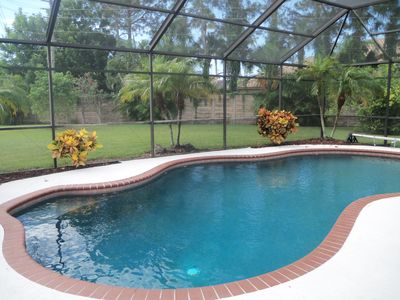 Photo for Executive Pool Home in Park-like Setting Near Siesta Key