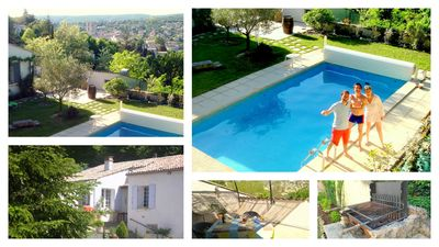 Photo for Zeperfectplace - Forcalquier in Provence, Luberon Pool and View