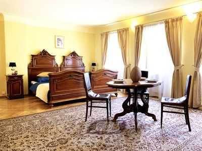 Photo for Prague Castle/Charles bridge two bedroom apartment