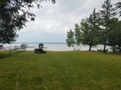 Photo for Higgins Lakefront Cottage & 22' Pontoon Boat (optional)