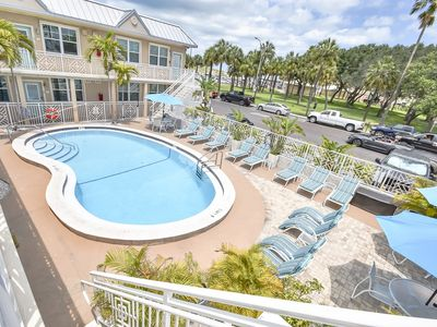 Photo for Beach Side Clearwater Beach Pool Side Condo