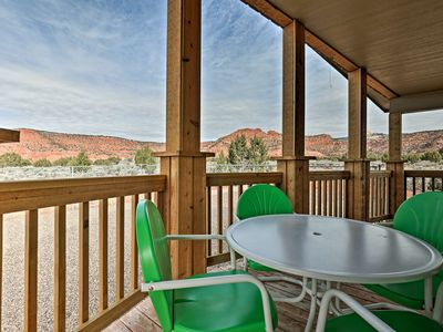 Photo for Modern Kanab Home w/Deck & Yard- 40 Mins From Zion