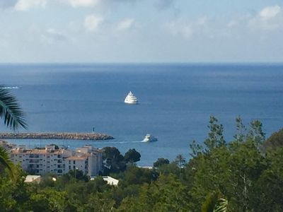 Photo for Sunny villa with sea views. In an exclusive neighborhood surrounded by nature.