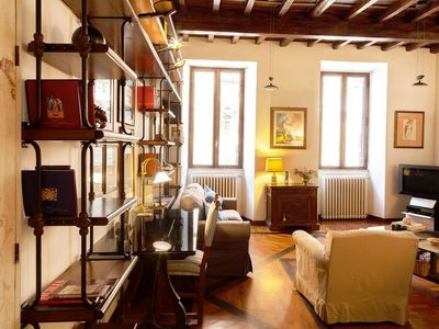 Photo for Apartment in the center of Rome with Internet, Air conditioning, Lift, Balcony (345974)