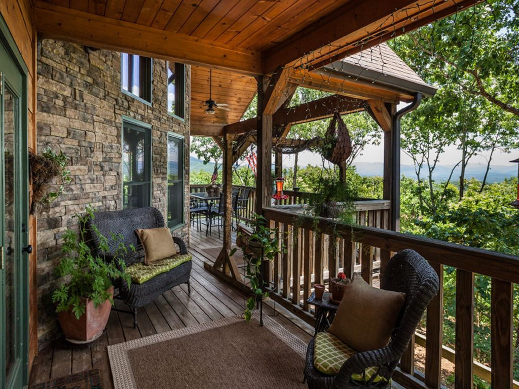 Porch Overlooking View