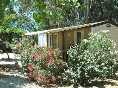 Photo for LAST MINUTE PROMOTION -20% Algajola, Mobilhome, fully equipped, 1 Km from the beach