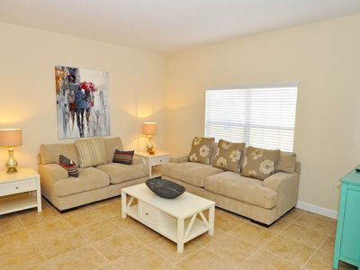 Photo for Beautiful 4 Bed Gated TownHm w/ Splash Pool At Paradise Palms Resort