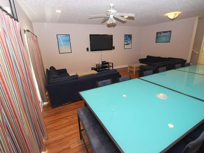 Photo for 6 Bedroom Sky Blue Villa. Myrtle Beach Villas 2. Sleeps 20. Best location.