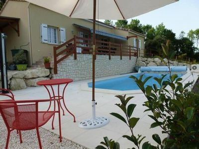Photo for Villa with private pool superbly located in a quiet and rural Perigord Vert.