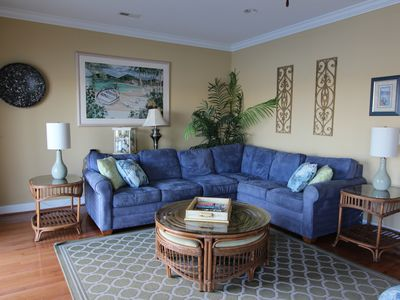 Photo for Private Pool/Elevator; Short walk to beach;Beautiful Marsh views;Family Friendly