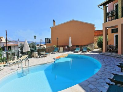 Photo for Kaminaki Villas Nikos: House With Pool Next to the Beach of Kaminaki!