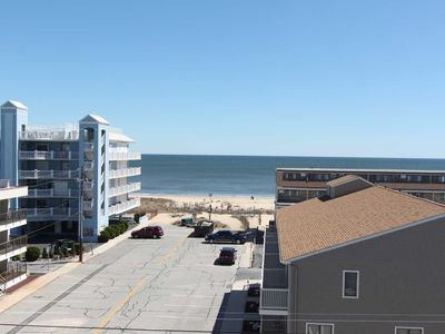 Photo for Beautiful Totally Refinished Penthouse with Great Views and 1 blk to Beach w/ Large Pool