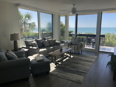 Photo for Gorgeous beachfront condo entirely remodeled in 2018