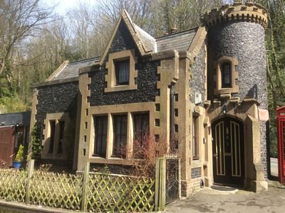 Photo for Fairy Tale Mini Gothic Castle 1 bed Holiday Cottage,Pet friendly,East Kent Coast
