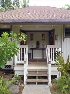 Photo for Private and Gorgeously Furnished Bungalow in Princeville